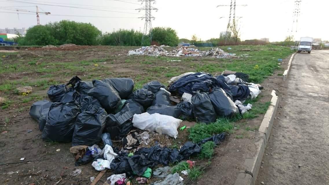 мусор в Ховрино