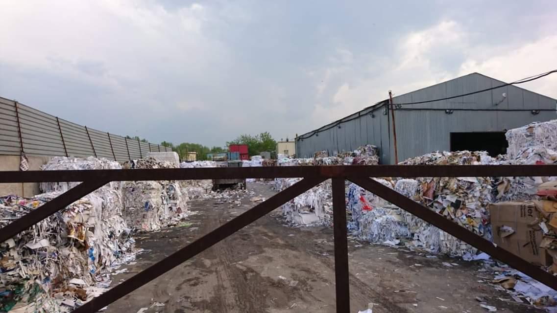 перевалка мусора в Ховрино