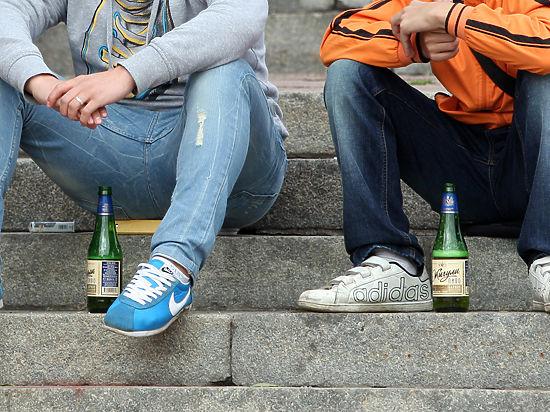 Пьяные и обкуренные подростки-новый тренд?