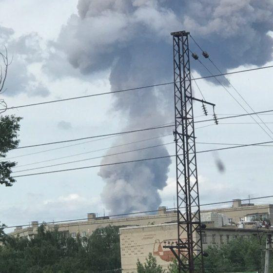 взрыв завода в Дзержинске